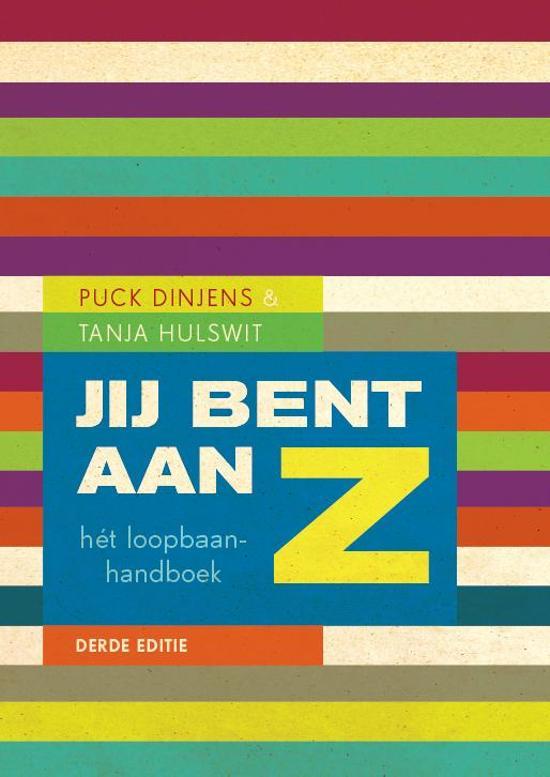Boek cover 'Jij bent aan Z'